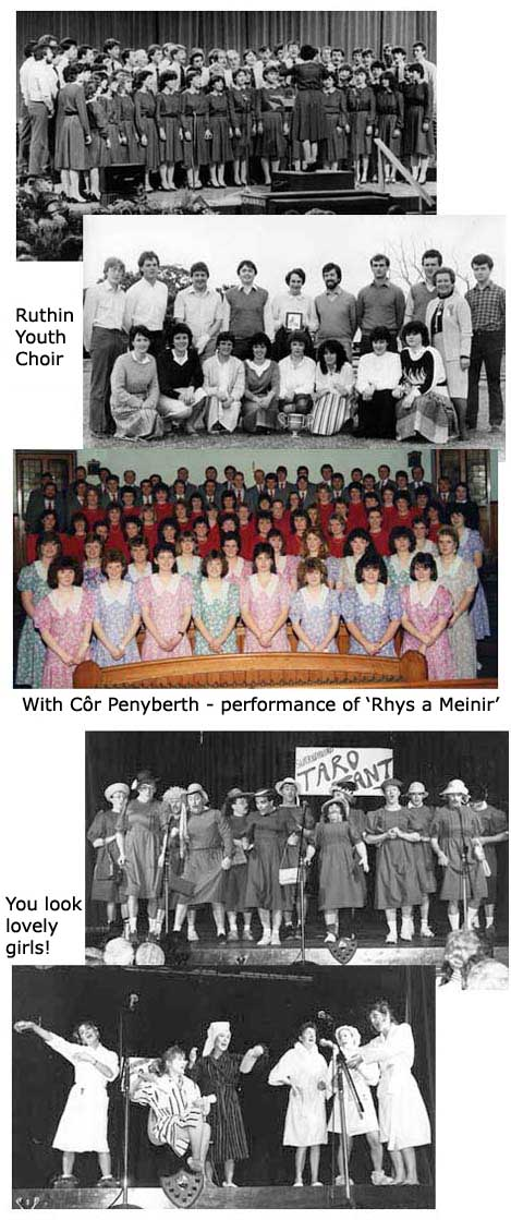 Some old photos of the Choir